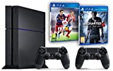 Contenu : Console PlayStation 4 - 500 Go 2ème manette PS4 Dual Shock 4 Uncharted 4: A Thief's End Fifa 16