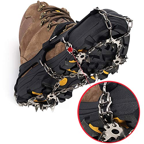 Ice Cleat Grippers - Superb Traction For Winter Terrain