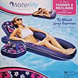 LIFE&WATER 2 - in - 1 Tanner & Recliner with Accessory Caddy
