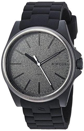Rip Curl Men's A3120-DSH Analog Display Quartz Black Watch