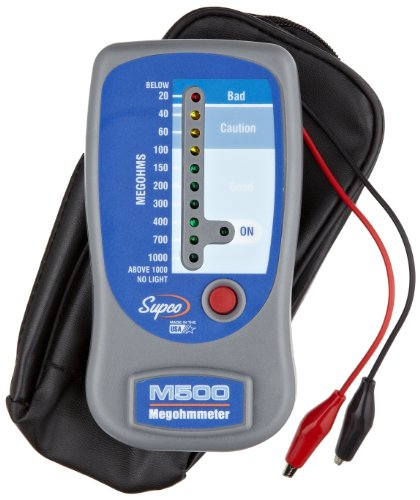 Sipco M500 Insulation Tester/Electronic Mega ohmmeter