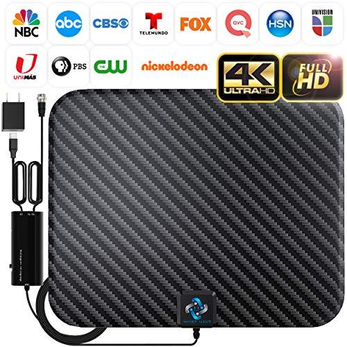 U MUST HAVE Amplified HD Digital TV Antenna Long 200 Miles Range...