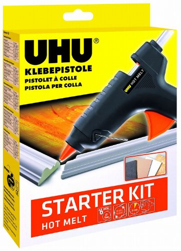 UHU 48355 Klebepistole, Hot Melt, Starter Kit
