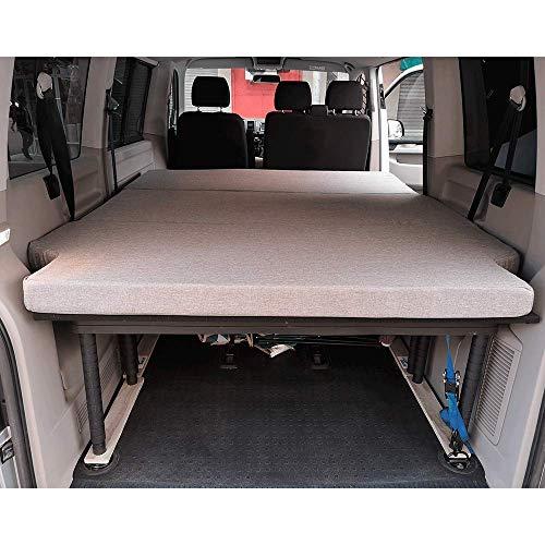 KFoam.es Colchón Plegable para Volkswagen T5, T6, Multivan,...