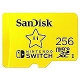 SanDisk Carte microSDXC UHS-I pour Nintendo Switch 256 Go - Produit...
