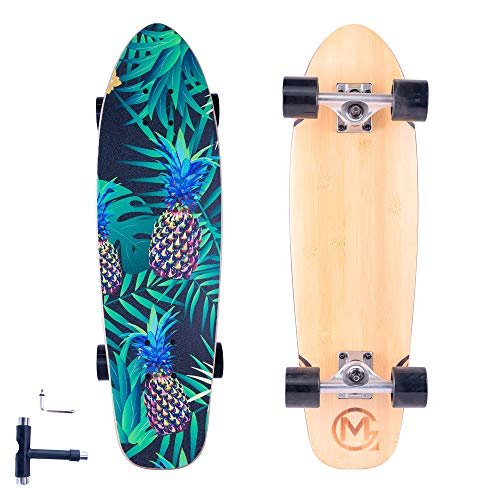 Complete-Standard Cruiser-Skateboards for Teens Adults-Beginners - 28'x8' Mini Short...