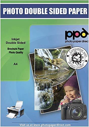 PPD A4 100 Fogli 130g Carta Brochure Di Qualit Fotografica Fronte-Retro Opaca Per Stampanti A Getto DInchiostro - PPD-40-100