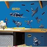 RoomMates Batman Gotham Guardian Peel and Stick Wall Decals - RMK1148SCS