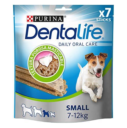 Purina Dentalife golosina dental para Perro Pequeño, 5 paquetes de 7...