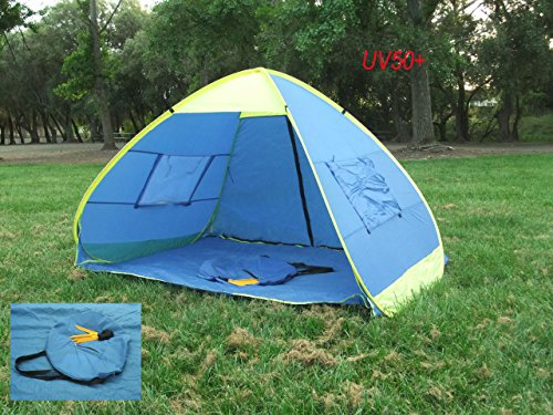 Genji Instant Up Pop Up Park and Beach Sun Shelter Tent