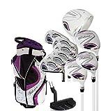 Believe Ladies Complete Golf Set - Purple - Right-Handed (Ladies Petite (-1'))