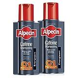 Alpecin Caféine Shampooing C1, 2 x 250ml – Shampooing anti-chute