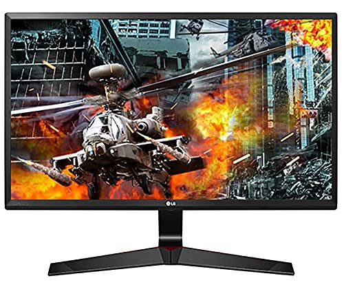 LG 24MP59G-P 60 cm (24 Zoll) Gaming Monitor (LED, IPS-Panel, AMD FreeSync, DisplayPort, 5ms Reaktionszeit)