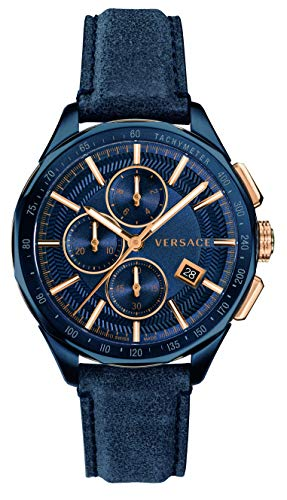Versace VEBJ00318 Glace Chronograph 44mm 5ATM