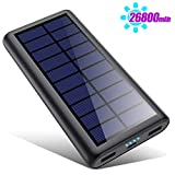 HETP Version à économie D'énergie Batterie Externe Chargeur Solaire 26800mah Power Bank [2020...