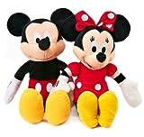 Disney Mickey and Minnie Plush Dolls (15')