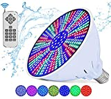 Life-Bulb LED Color Pool Light Bulb for in ground pool. 120V 40W RGB Color Changing. Lifetime Replacement Warranty. Replacement bulb for Pentair and Hayward Fixture. Switch Control or Remote