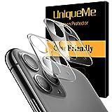 UniqueMe [2 Pack] Protector de Lente de cámara para iPhone 11 Pro/iPhone 11 Pro MAX Cristal...