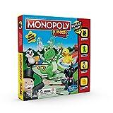 Monopoly Junior, Jeu de Societe pour Enfants, Jeu de Plateau, Version Francaise