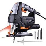 Scie Sauteuse TACKLIFE, 800W & 3000SPM, Laser & LED, 6...