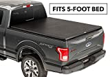 TruXedo TruXport Soft Roll Up Truck Bed Tonneau Cover   256001   fits 16-20 Toyota Tacoma 5' bed