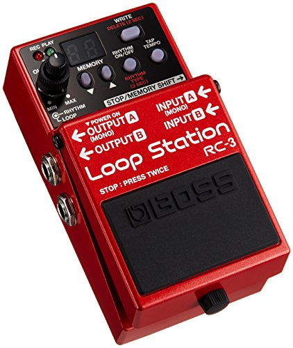 BOSS RC-3 Loop Station Pedal , red