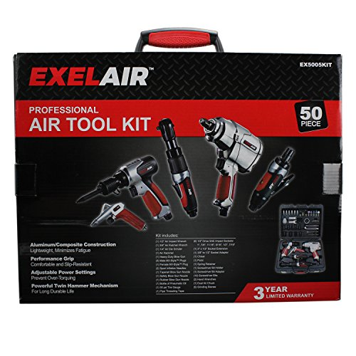 50 Piece Professional Air Tool Kit