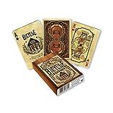 Fournier 1038249 Bicycle Bourbon 1038249-jeu collectionneurs Jeu de Cartes, Roasted, Poker