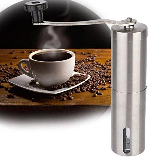 LWVAX Manual Stainless Steel Coffee Grinders Coffee Hand Grinder