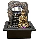 Zen'Light Fontaine Zen Dao Résine, Bronze, 21 x 17 x 25 cm