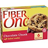 Fiber One Soft Baked Cookies, Chocolate Chunk, 6 ct (Grocery)