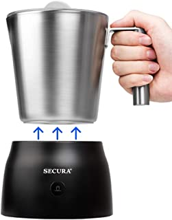 Secura 4 in 1 Electric Automatic Milk Frother and Hot Chocolate Maker Machine 17oz/500ml..