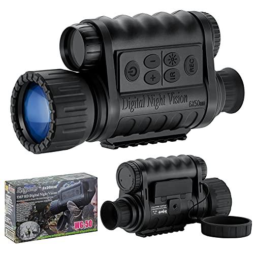 6. Bestguarder 6x50mm HD Digital Night Vision Monocular