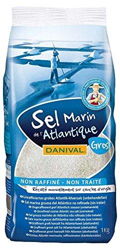 Danival Sel Marin de de l'Atlantique, No Refinada, paquete d