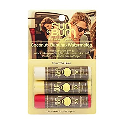 SPF 30 SUNSCREEN LIP BALM - VARIETY PACK. Our fav SPF lip balm trio with Aloe and Vitamin E to protect and moisturize your kisser all day long! Our smooth and hydrating formula with Aloe and Vitamin E is great for everyday lip protection. LASTING LIP...