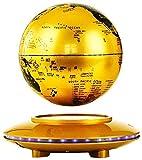 Nfudishpu Globo terráqueo, Globo Flotante magnético 8 Pulgadas, Mapa Mundial Giratorio, Globo antigravedad Regalo Educativo, decoración Escritorio el Aula la Oficina en casa