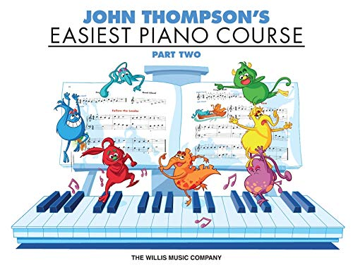 Easiest Piano Course Part 2 John Thompson's