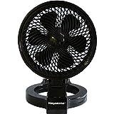 Keystone KSTFD070CAG Convertible Fan, 7-Inch, Black