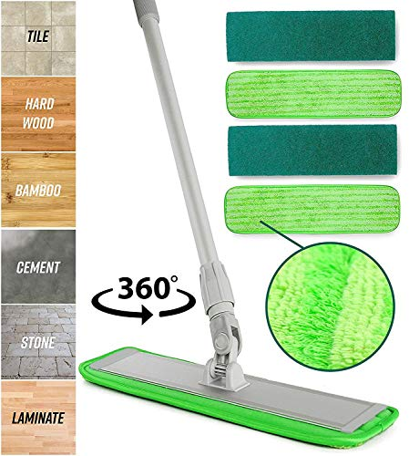 Microfiber Mop Floor Cleaning System -...