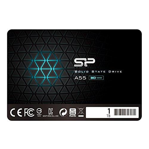 シリコンパワー SSD 1TB 3D NAND採用 SATA3 6Gb/s 2.5インチ 7mm PS4動作確認済 3年保証 A55シリーズ