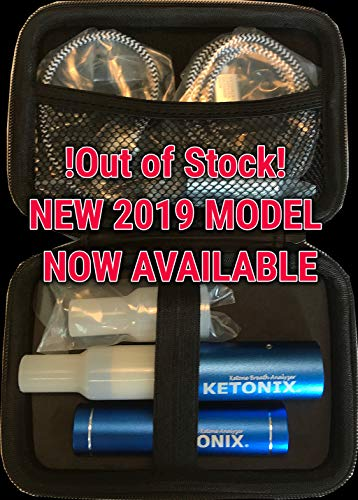 Ketonix Breath Ketone Analyzer – Bluetooth connection to your Smart Device, and Battery Pack