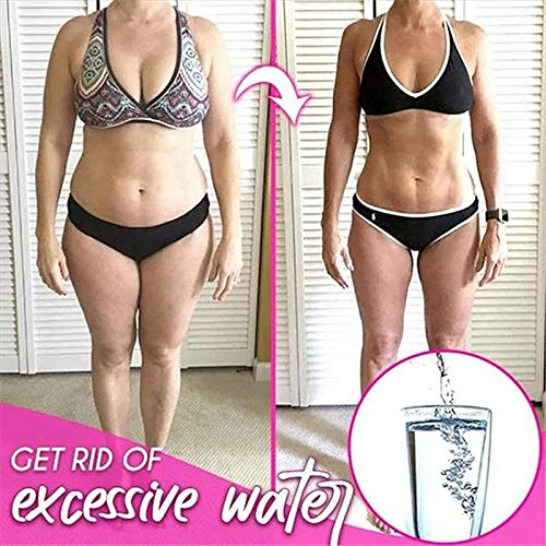 HUQUAN Body Slimming Spray, 10ml FitPlus Transformation Spray Weight Loss Body Belly Cream Fat Burner Professional Cellulite Slimming Spray for Women Men Weight Lose 3