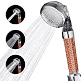 Cobbe Shower Head High Pressure Filter Filtration Handheld Showerheads Water Saving 3 Mode Function Spray Ecowater Spa Shower Heads for Dry Hair & Skin
