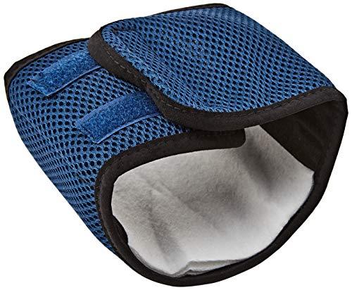 Trixie 23661 - Fascia elastica per cani in rete, misura S, 29-37 cm, colore: Blu scuro