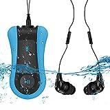 AGPTEK Lecteur Mp3 Etanche IPX8 S12E, 8Go Baladeur Mp3 Waterproof pour...