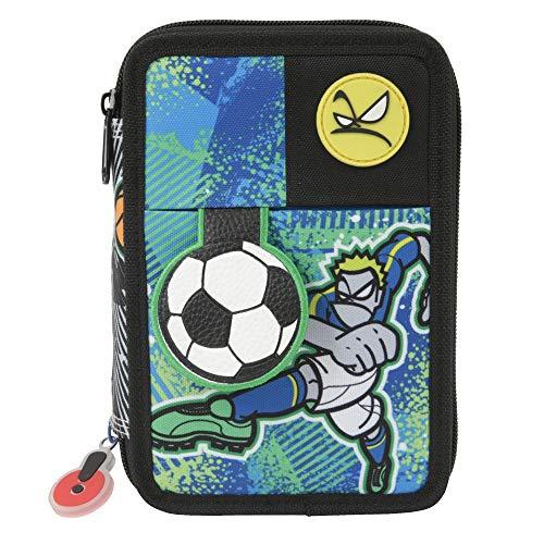 Giochi Preziosi Gopop 19 Astuccio Triplo Sport Custodia, 22 cm, Multicolore
