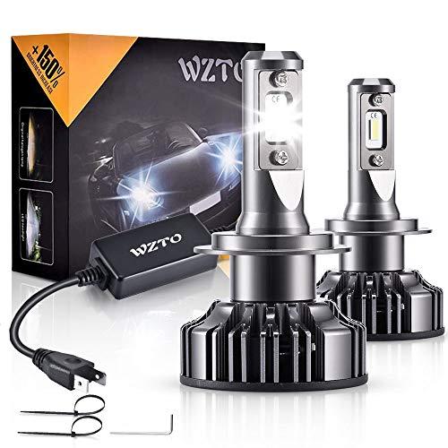 H7 LED, WZTO 12000LM Lampadine H7 LED 70W Lampada Sostituzione per Alogena Lampade e Xenon Luci, 6000K 12V-24V Impermeabilit IP67-2 Anni Di Garanzia