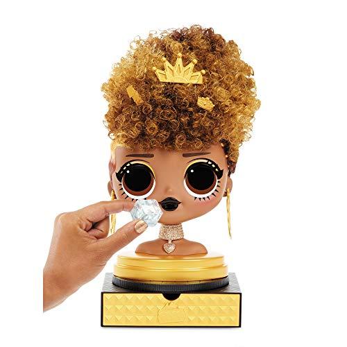 Image 8 - LOL Surprise Tête à coiffer OMG avec perruques aux coiffures infinies - 30 surprises et accessoires - Royal Bee