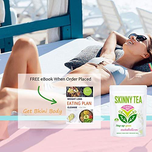 Detox Tea for Weight Loss, O.K Tea 28 Day Skinny Tea Body Detox Cleanse Diet Tea 11