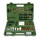 GLORYFIRE Universal Gun Cleaning Kit Hunting Rifle Handgun Shot Gun Cleaning Kit for All Guns with Case Travel Size Portable Metal Brushes